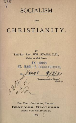 Download Socialism and Christianity
