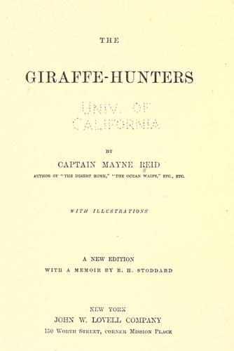 The giraffe-hunters