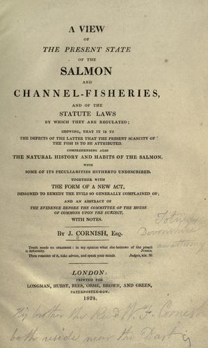 Download A view of the present state of the salmon and channel-fisheries