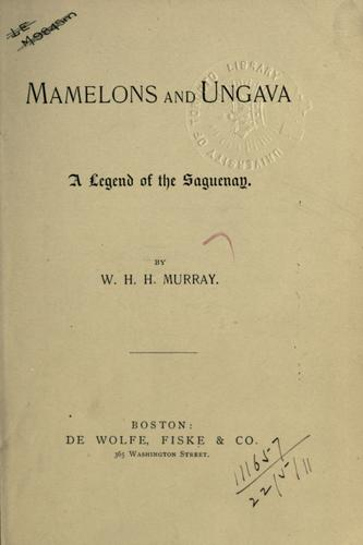 Mamelons, and, Ungava