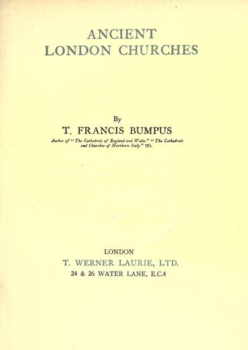 Download Ancient London churches