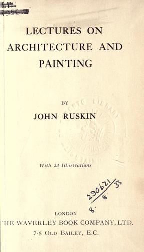 Download Lectures on architecture and painting.
