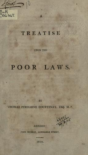 Download A treatise upon the poor laws.