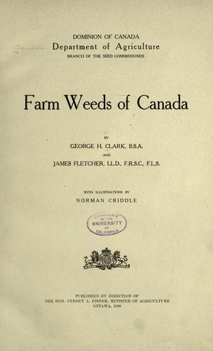 Download Farm weeds of Canada