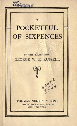 A pocketful of sixpences
