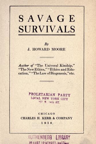 Download Savage survivals.