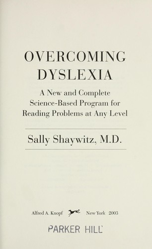 Download Overcoming dyslexia