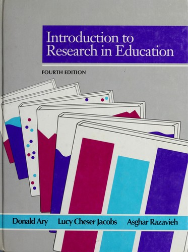 Download Introduction to research in education