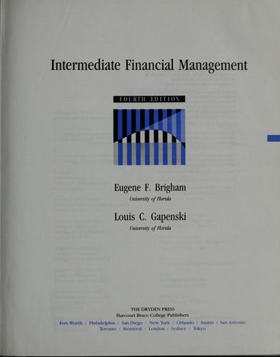 Download Intermediate financialmanagement