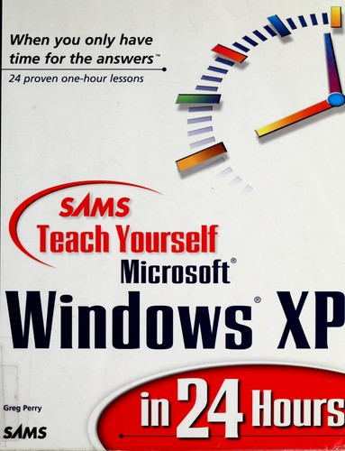 Download Sams teach yourself Microsoft Windows XP in 24 hours