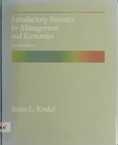 Download Introductory statistics for management and economics