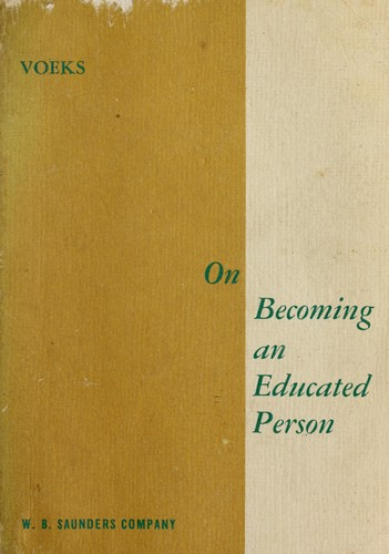 On becoming an educated person