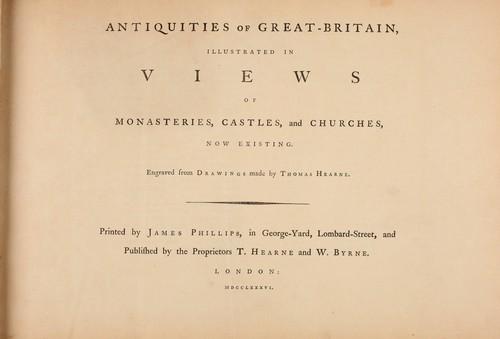 Antiquities of Great Britain