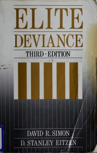 Download Elite deviance