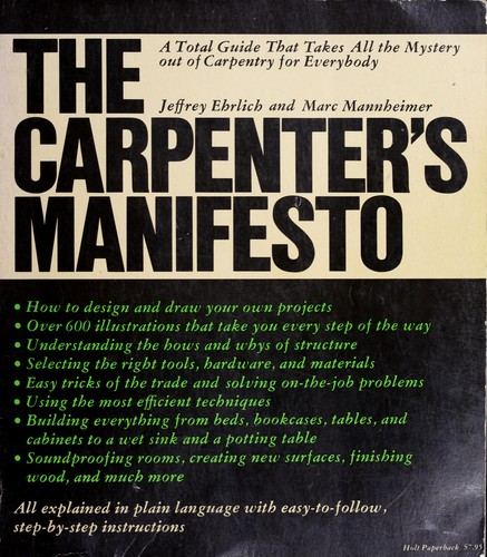 The Carpenter's Manifesto