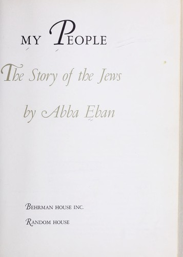 Download My people: the story of the Jews