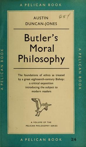 Butler's moral philosophy