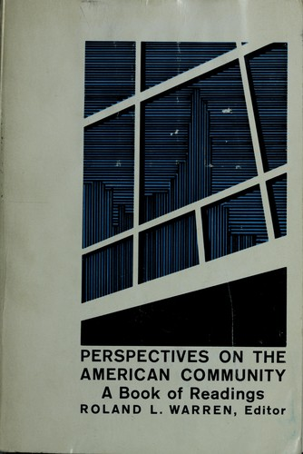Download Perspectives on the American community