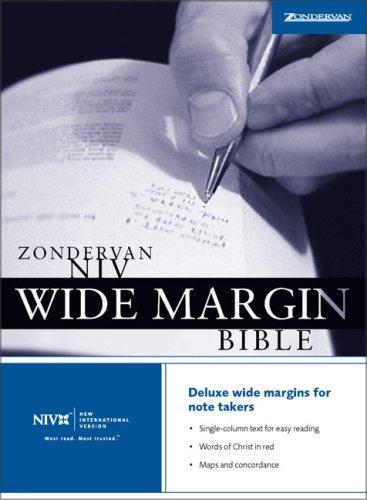 Download Zondervan NIV Wide Margin Bible