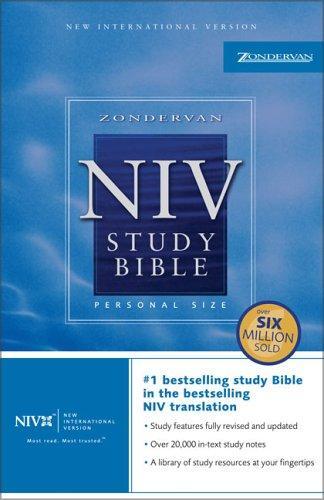 Download Zondervan NIV Study Bible, Personal Size