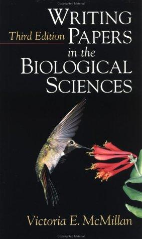 Download Writing papers in the biological sciences
