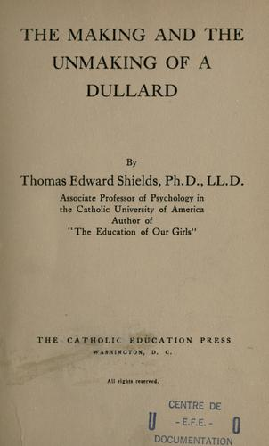 Download The making and the unmaking of a dullard