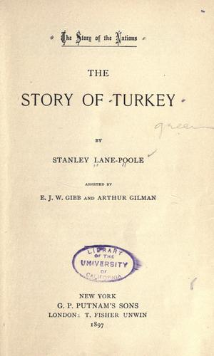 Download The story of Turkey