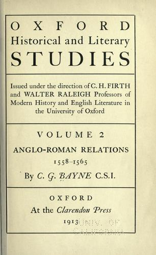 Anglo-Roman relations, 1558-1565