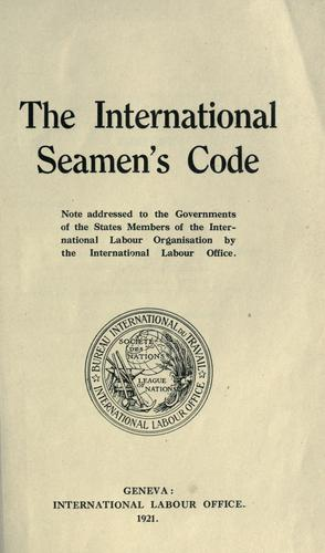 The international seamen's code