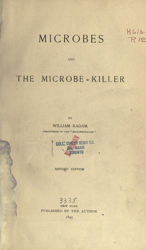 Download Microbes and the microbe killer