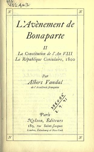 Download L' avénement de Bonaparte