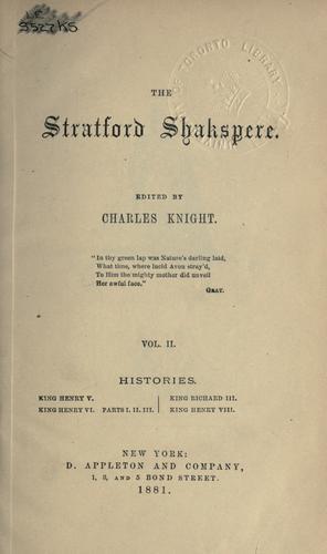 The works of Shakspere.