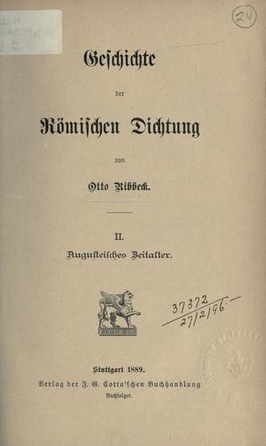 Download Geschichte der römischen Dichtung.