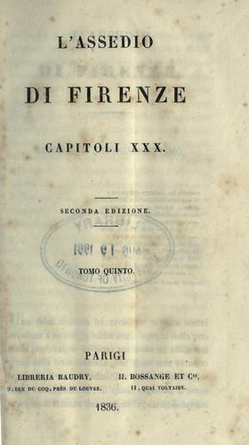 Download L' assedio di Firenze