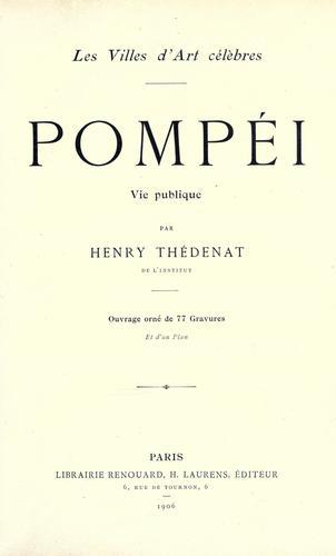 Download Pompéi