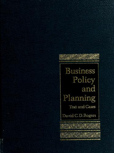 Download Business policy and planning