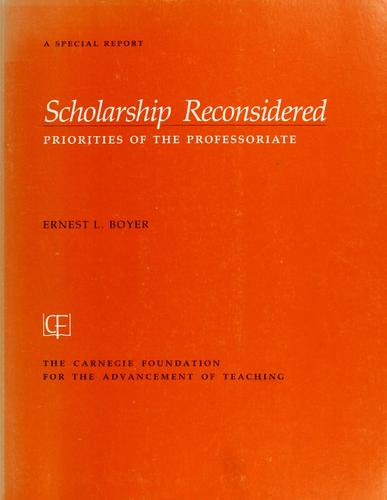 Download Scholarship reconsidered
