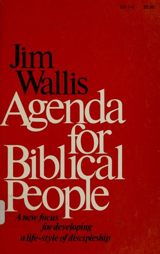 Agenda for Biblical People