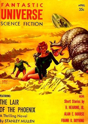 Fantastic Universe, April 1956 (Volume 5 No. 3), Margulies, Leo (Editor)