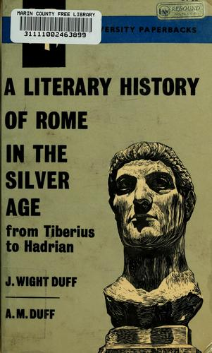A literary history of Rome in the silver age