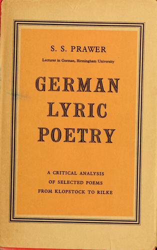 Download German lyric poetry