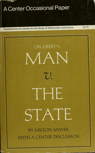 On liberty: man v. the state