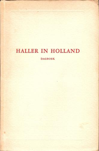 Haller in Holland