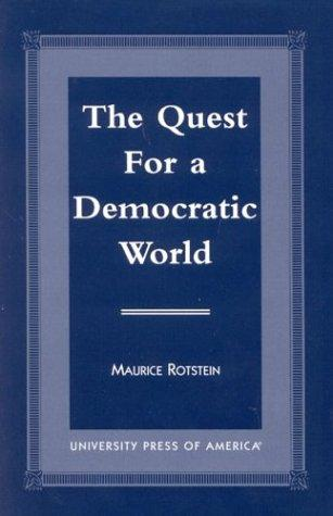 Download The Quest for a Democratic World