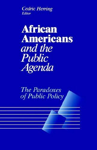 Download African Americans and the Public Agenda