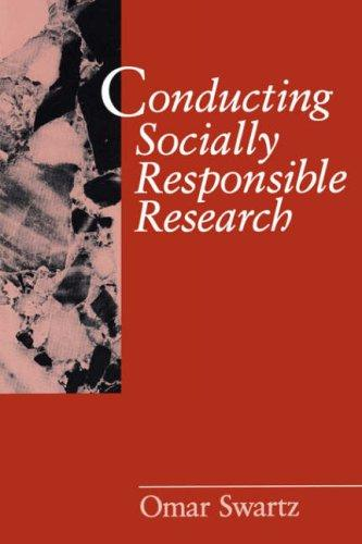 Conducting socially responsible research