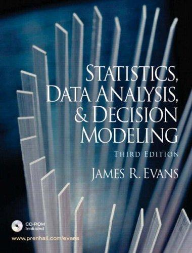 Download Statistics, data analysis, and decision modeling