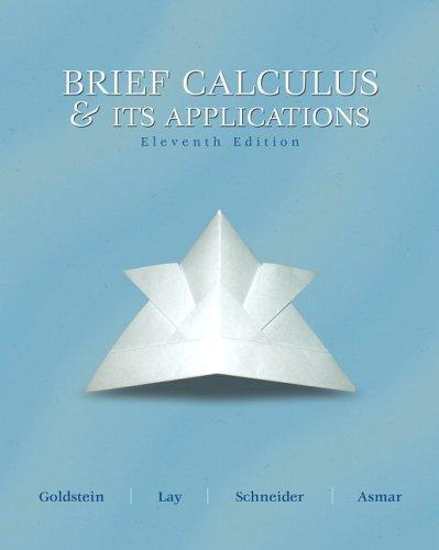 Download Brief calculus & its applications