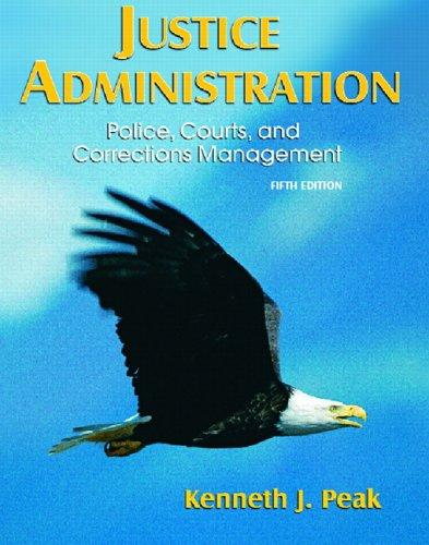 Download Justice administration