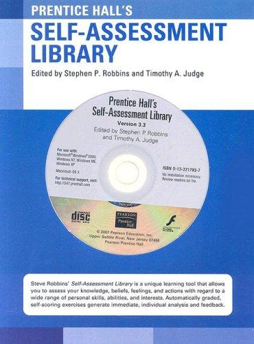 Self-Assessment Library (CD-ROM) (12th Edition)